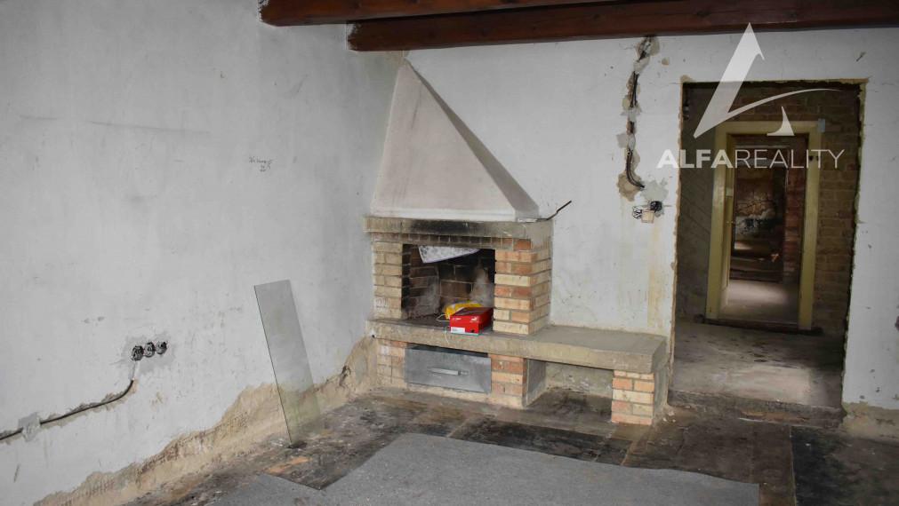 Vidiecký rodinný dom vhodný na chalupu v obci Nitrianské Sučany, okr. Prievidza
